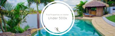 Waterfront Properties near the Houston Area Under 500k
