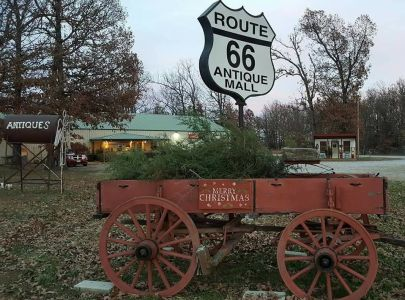 Christmas Open House Route 66 Antique Mall