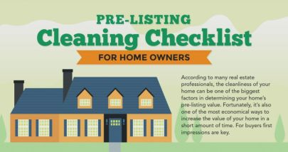 Pre-Listing Cleaning Checklist for Home Owners