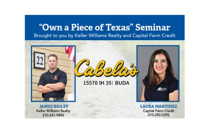 Cabelas Buda Buyer Land Seminar   18th of August – Get Ready for Hunting Season
