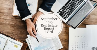 September 2019 Real Estate Report Card