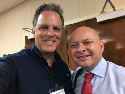 Met Micheal Burt at GCAR