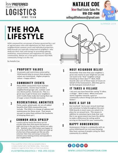 Benefits of an HOA