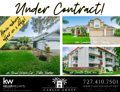 Under contract this week!