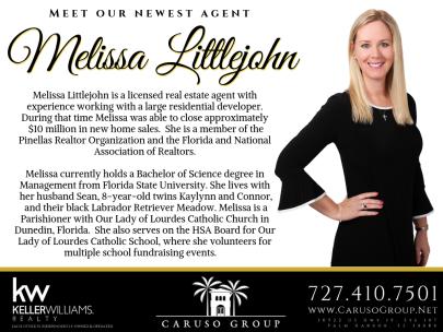 Welcome, Melissa Littlejohn!