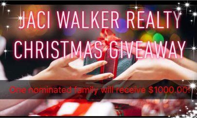 Jaci Walker Realty Christmas Giveaway