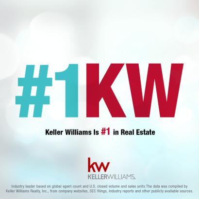 Keller Williams is the #1 Brokerage!