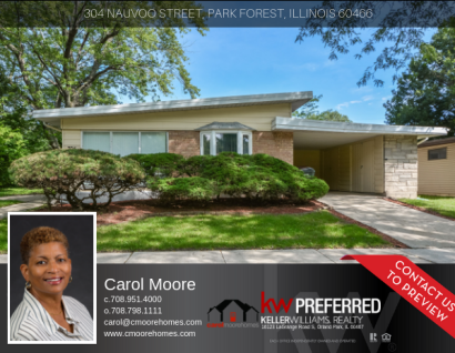 Listing – 304 Nauvoo St Park Forest, IL 60466