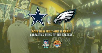 Sarasota Eagles Fans Gather at JDubs for the WIN!!! November 11 2018
