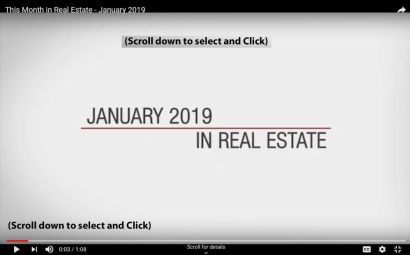 This Month in Real Estate – January 2019