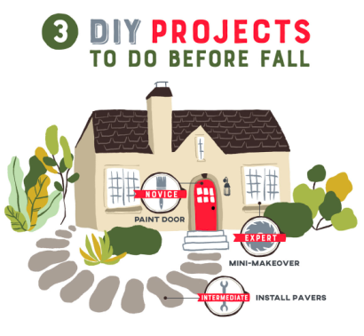 DYI Projects before Fall