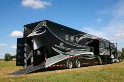 If You Could Build Your Luxury Horse Trailer…