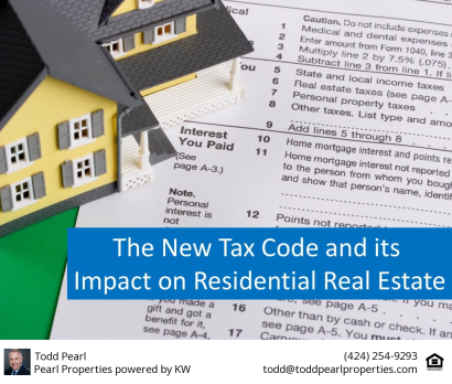 Tax Reform Housing Reference Guide