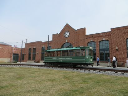 A visit to the National Capitol Trolley Museum