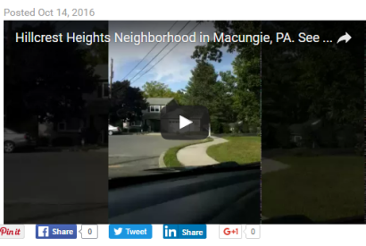 Hillcrest Heights Subdivision, Macungie, PA