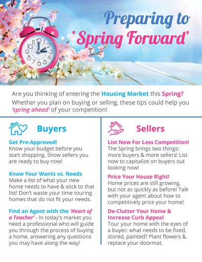 Preparing to Spring Forward!