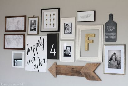 Designing a Family Photo Wall