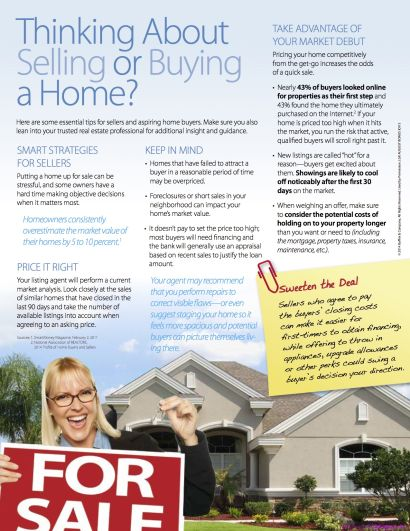 Thinking About Selling or Buying a Home?