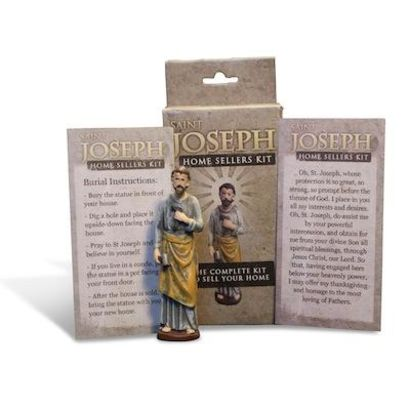 Selling A Home? Buy & Bury A St Joseph Statue