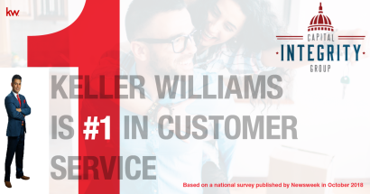 #1 in Customer Service- Keller Williams Realty