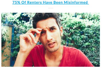 Renters Have Been Misinformed!