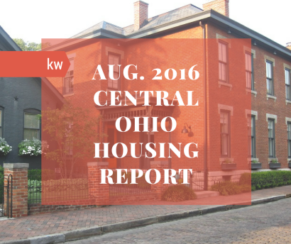 Central Ohio Housing Report – August 2016