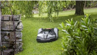 No Time to Cut Grass?  There's a Robot For That!