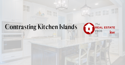 Contrasting Kitchen Islands are Cool!