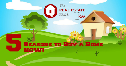 5 Great Reasons to Buy a House NOW!