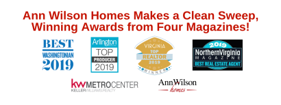 Ann Wilson Homes Makes a Clean Sweep, Winning Awards from Four Magazines!