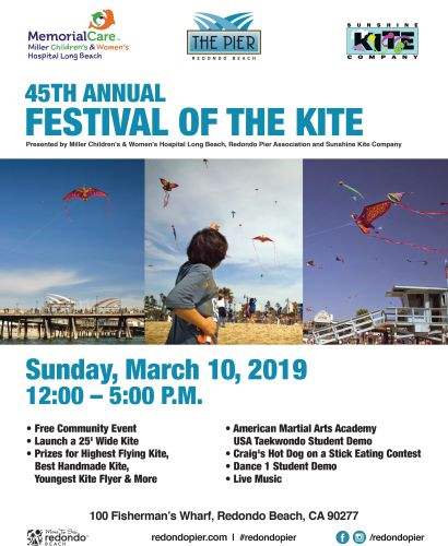 45TH ANNUAL REDONDO BEACH PIER FESTIVAL OF THE KITE