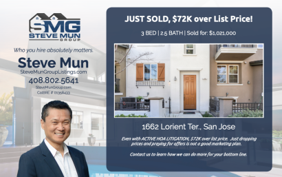 Just Sold – 1662 Lorient Terr. San Jose