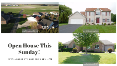 Open House: August 4th, 2019