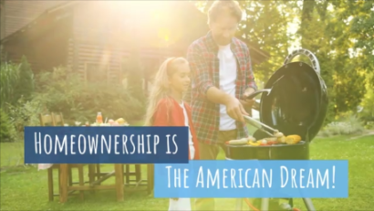 Homeownership Is the American Dream!