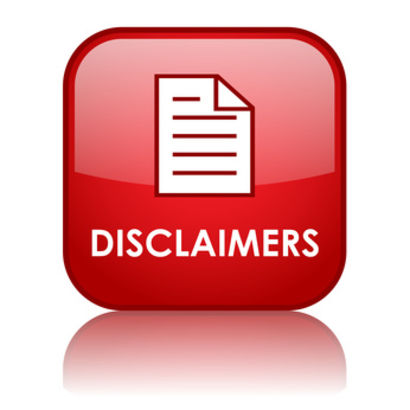 DISCLAIMERS AGAINST RELIANCE