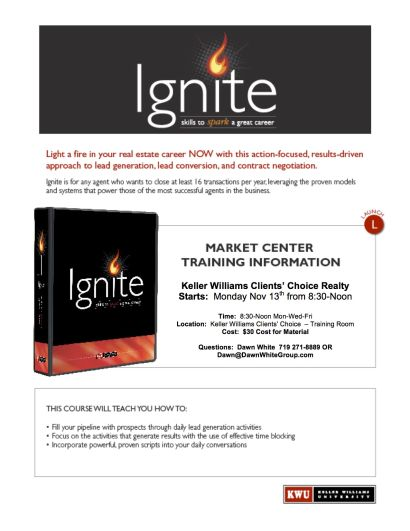 Your Invited – IGNITE Close 16 Transactions