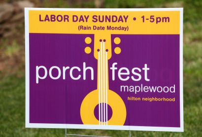 Maplewood Porchfest is back on 9/1 (rain date: 9/2)