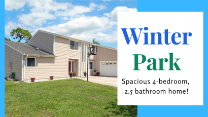 Just Listed in Winter Park | Spacious 4-bedroom Home
