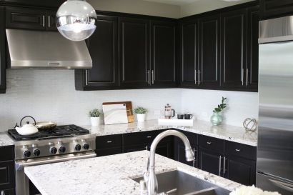 Kitchen Hardware DIY Project: How To Update Your Traditional Kitchen Cabinets With a Modern Twist