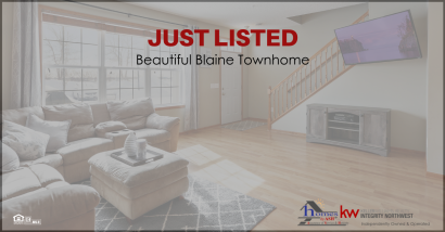 Great New Townhome Listing Available in Blaine