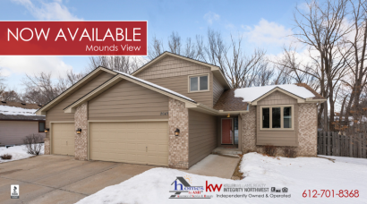 Great New Four-Bedroom Mounds View Home For Sale