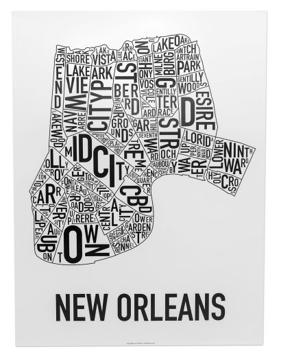 New Orleans Neighborhood Names