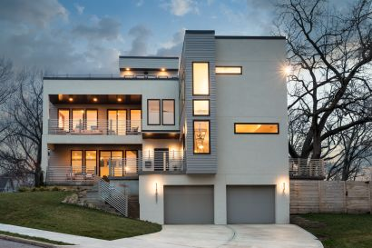 JUST LISTED!  Captivating Contemporary Creates Visual Excitement
