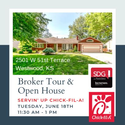 Servin' Up Chick-fil-A! Broker Tour & Open House