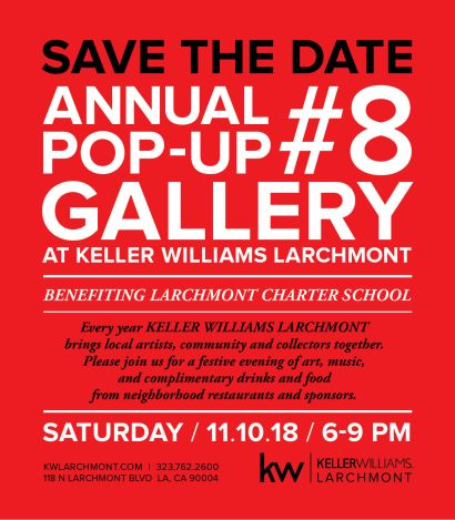 Larchmont 8th Annual Art Pop-Up!
