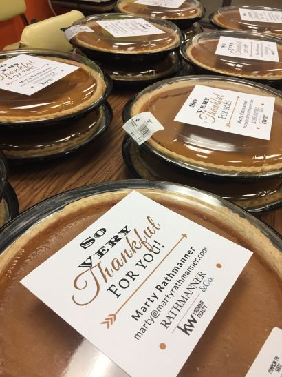 2nd Annual Thanksgiving Pie Event – OH Anderson Elementary