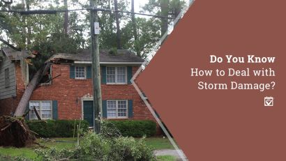 Dealing with Storm Damage