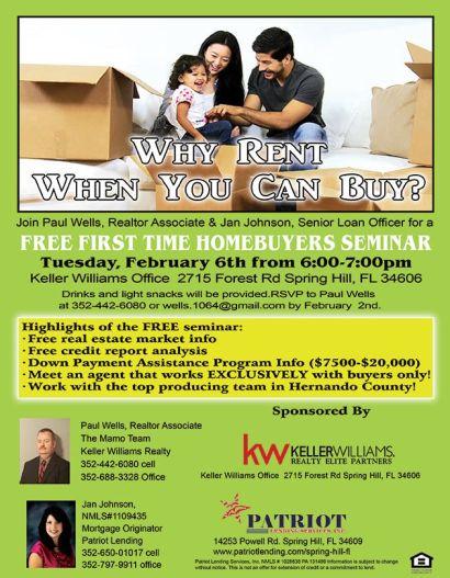 New Home Buyer Class!