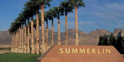 Summerlin the height of Las Vegas Living