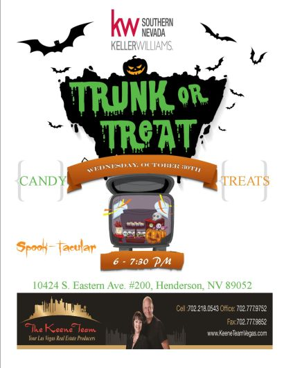 TRUNK OR TREAT FUN EVENT